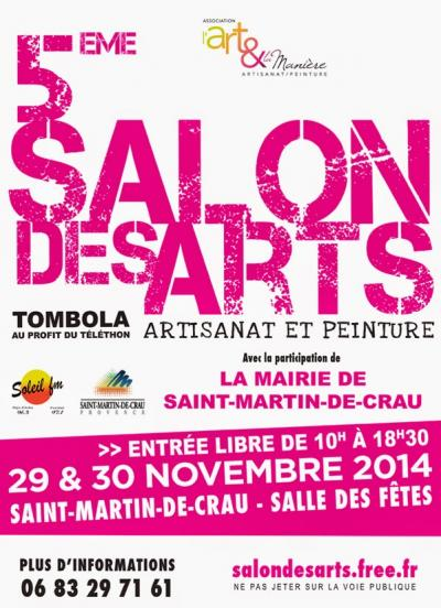 Affiche 5 salon des arts