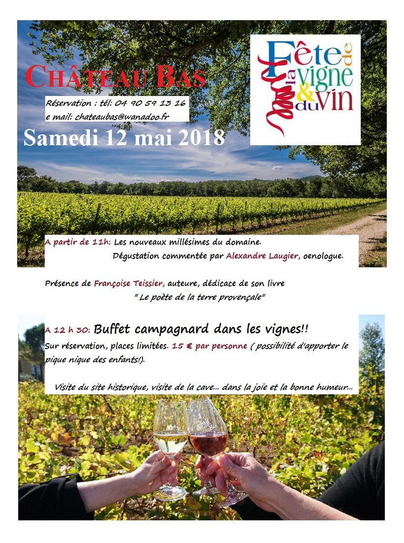 Chateau bas 12 mai 2018