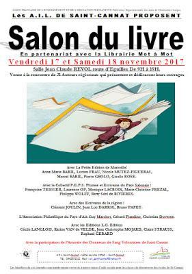 Salon du livre 18 11 2017