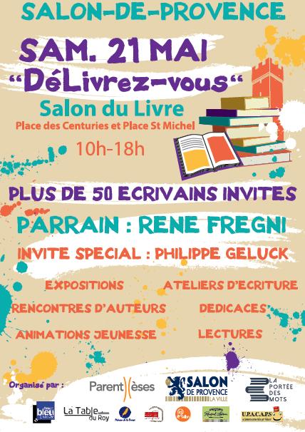 Salon du livre 21 mai 2016