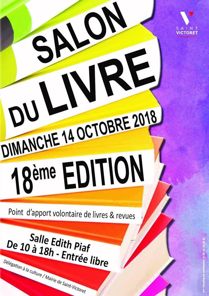 Salon du livre saint victoret 2019